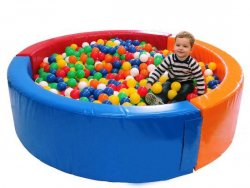 Сухий басейн круглий діаметр 1,5м