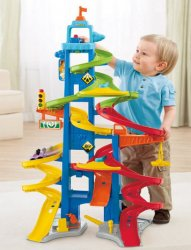Трек Fisher Price Little People City Skyway