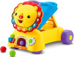 Ходунки каталка толокар 3 в 1 Fisher-Price