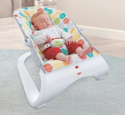 "Шезлонг Fisher Price ""Енот"" без музики"