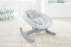Заколисуючий центр Fisher-Price 4-in-1 Smart Connect Grey (0005512)