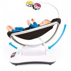 Крісло-гойдалка 4moms MamaRoo 4.0 Чорне NEW