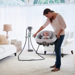 Заколисуючий центр Graco Duet Connect LX SWING