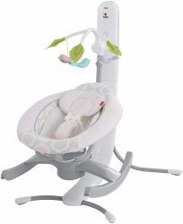 Заколисуючий центр Fisher-Price 4-in-1 SmartConnect Pink (000502)