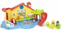 Little People Place Musical Preschool Playset Музыкальная площадка серии Little people
