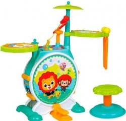 Іграшка Hola Toys барабанна установка