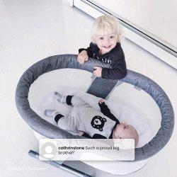 Ліжечко Simmons Kids Oval City Sleeper Bedside