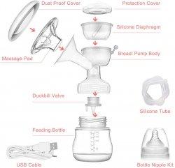 Двохфазний молоковідсмоктувач Electric Breast Pump